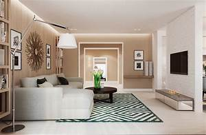 Warm modern interior design for Stylish interior decor ideas