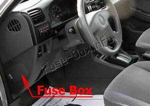 Fuse Box Diagram Honda Passport  2000