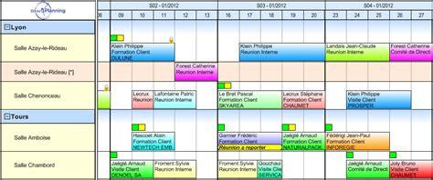 planning service une interface utilisateur visuelle et intuitive