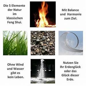 Feng Shui Wasser : die 5 elemente als basis in unserer welt ~ Indierocktalk.com Haus und Dekorationen