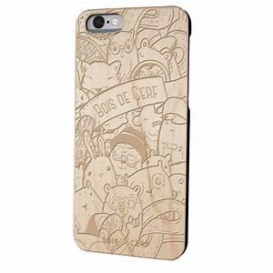 Nouveaute Iphone 6 : coque en bois pour iphone bois de cerf ~ Medecine-chirurgie-esthetiques.com Avis de Voitures