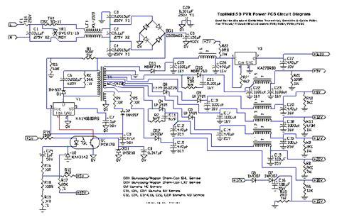 Toppy Power Board Circuit Diagram