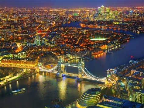Wallpaper London, Cityscape, Night lights, 4K, World, #3376