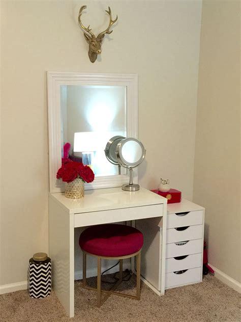 Bathroom vanities with makeup desk cheap vanity table vanities cheap vanity table medium size of bathroom. Bedroom: Chic Makeup Vanity Table With Lights Interior ...