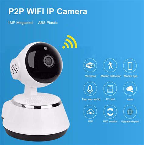 wifi home smart wifi monitor ip home security 720p hd