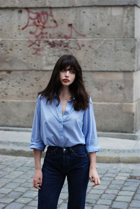 Pin by Isabella | ASOS on Style | Pinterest | Denim dungaree dress Light blue shirts and ...