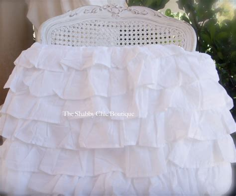 target shabby chic white dust ruffle petticoat tiered queen bed valance bedskirt shabby white ruffles chic 6 layers