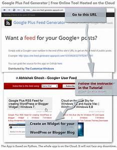 Google Plus Rss Feed Generator By Abhishekghosh On Deviantart