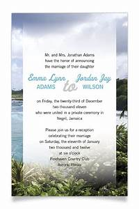 reception invitation wording after private wedding With wedding reception invitation wording after private ceremony