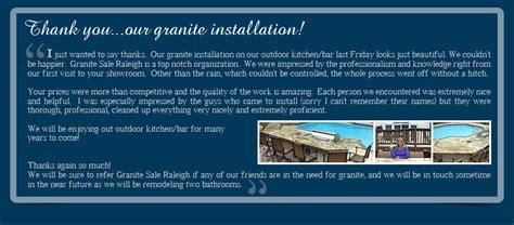 granite sale raleigh nc discount granite