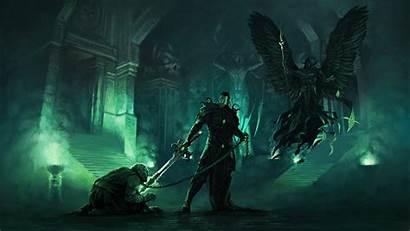 Heroes Necropolis Might Magic Fantasy Wallpapers