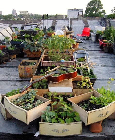 8 Awesome Rooftop Gardens From Around The World Organic