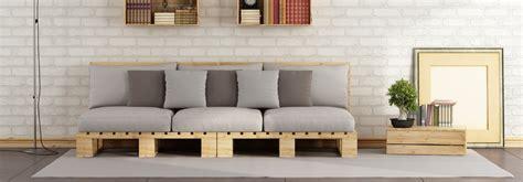 canapé en palettes idees canape palettes de bois accueil design et mobilier