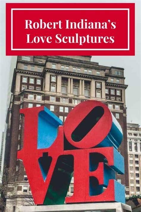 love sculptures  robert indiana