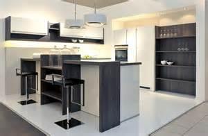 kchen mit theke kuche modern u form beste home design inspiration