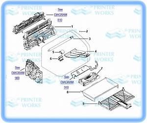 Hp Officejet Parts Diagram
