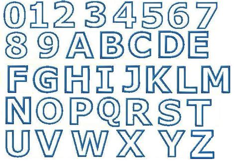 outline type fonts images reverse search