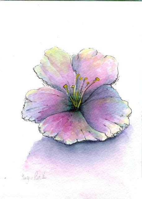 original watercolor painting simple expressions