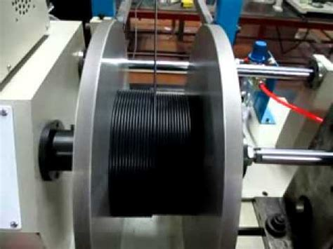 cable wire coil winding machine youtube