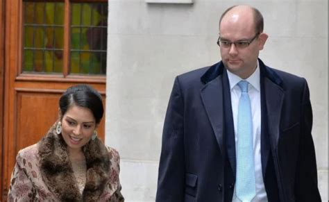 Who Is Priti Patel's Husband Alex Sawyer? Married Life ...