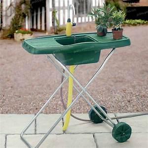 Evier D Exterieur Pour Jardin : evier d 39 ext rieur de jardin mobile mobilier de jardin ~ Premium-room.com Idées de Décoration