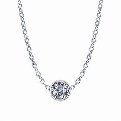 Diamond Necklace Solitaire Pendant Locket Engraved Crislu