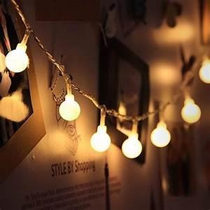 Guirlande Lumineuse Mariage : innoo tech guirlande lumineuses boules 10 m tres 100 leds ~ Melissatoandfro.com Idées de Décoration