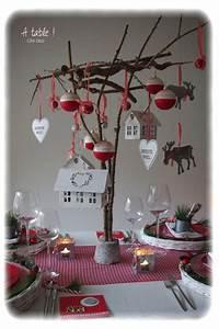 Decoration De Noel Pour Fenetre A Faire Soi Meme : deco de table a faire soi meme dcoration de table de nol ~ Melissatoandfro.com Idées de Décoration