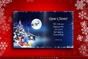 Electronic christmas cards christmas cards email for Electronic holiday cards for business