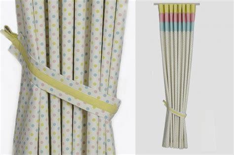 custom handmade modern nursery curtains dottystripes