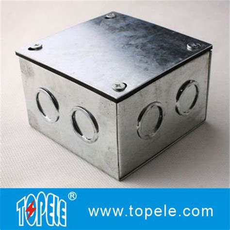 steel electrical conduit square junction box metal