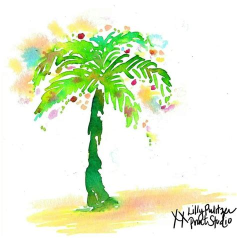 palm tree christmas lilly 5x5 lilly pulitzer pinterest
