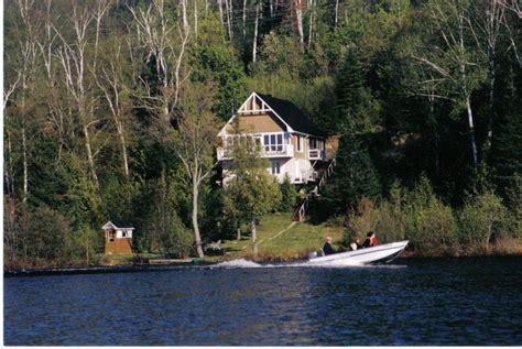 chalet du lac daumesnil chalet la conception chalet laurentides chalet lac cameron