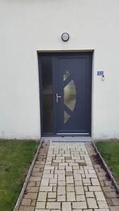 Fenetre Pvc Gris Anthracite : installation d 39 une porte d 39 entr e pvc gris anthracite ral ~ Dailycaller-alerts.com Idées de Décoration