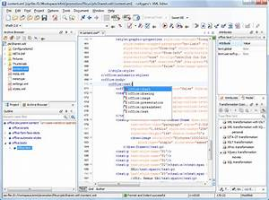 open document format odf oxygen xml editor With html documents editor
