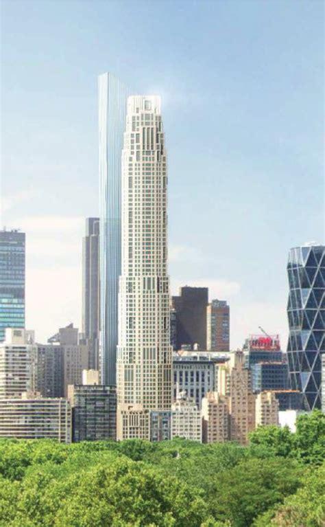 rendering confirms design   central park south