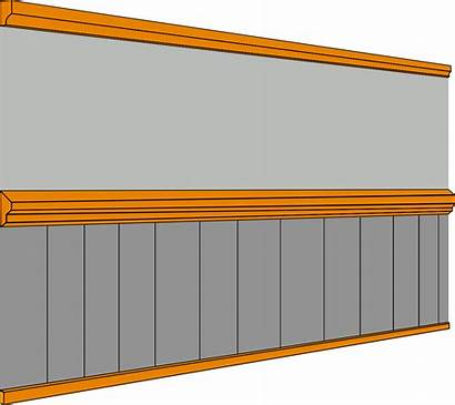 Wall Dado Rail Architecture Svg Skirting Middle