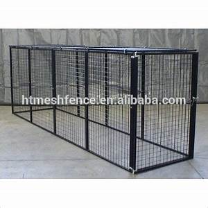 Large dog run chain link animal cage soft portable garden for Dog run cage enclosure