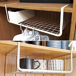 Iron, Mesh, Basket, Cupboard, Cabinet, Door, Organizer, Rack, Closet, Holders, Hanging, Under, Shelf, Storage