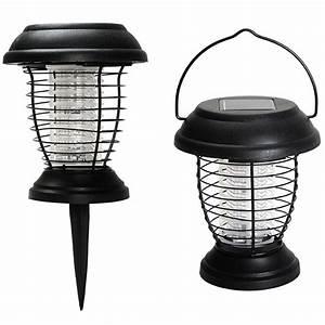 Lampe Anti Insecte : lanterne anti moustique nergie solaire 2 en 1 lampe anti ~ Melissatoandfro.com Idées de Décoration