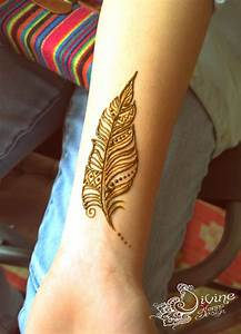 Peacock Feather Henna Design | www.imgkid.com - The Image ...