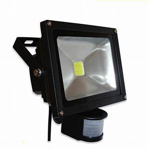 W warm white pir sensor lamp motion detective led