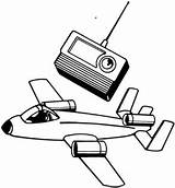 Radio Coloring Remote Control Pages Plane Clipart Tv Airplane Drawing Baby Aircraft Printable Receiver Computer Cliparts Getdrawings Toys Clipartbest Clip sketch template