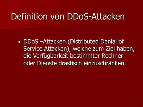 ddos attacken powerpoint  id