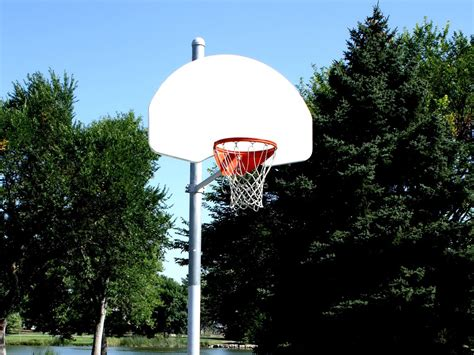 picture basketball hoop basketball court playground