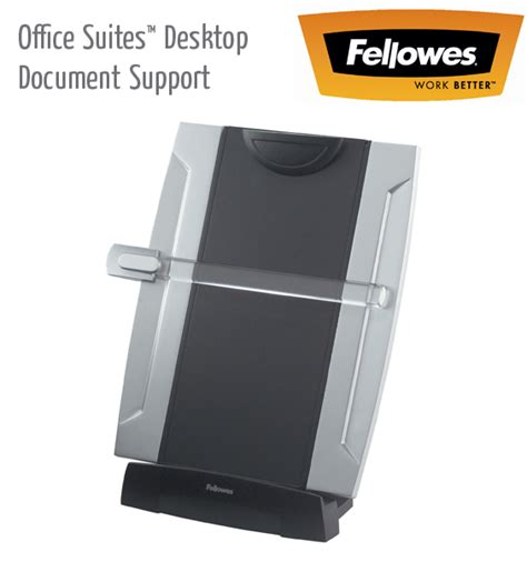 support document bureau fellowes laptop monitor document support