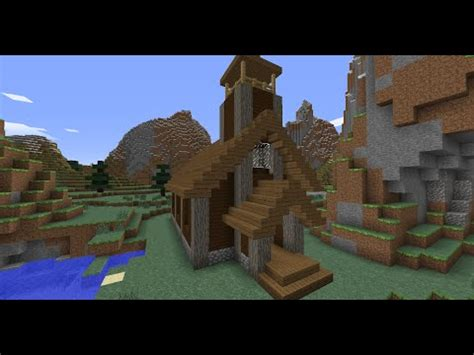 Minecraft  Medieval Church Tutorial