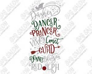 Christmas Reindeer Svg File