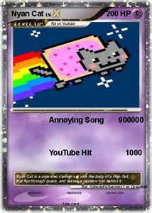 Nyan Cat Pokemon Card