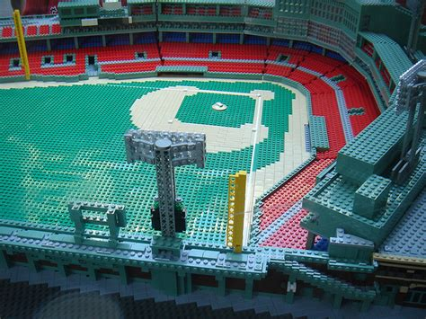 fenway park  lego form pics total pro sports